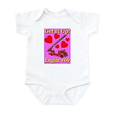 Get It Up Engine #69 Infant Creeper