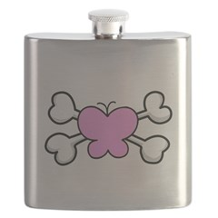 pink butterfly.png Flask