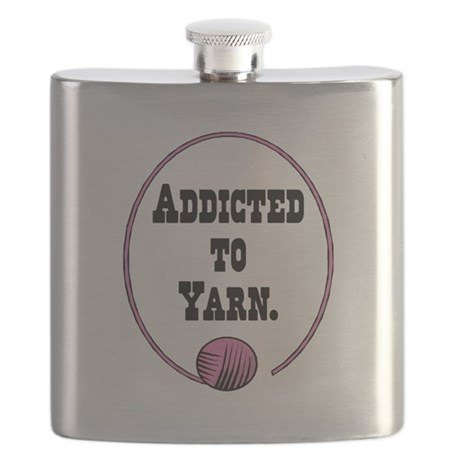 addicted to yarn.png Flask