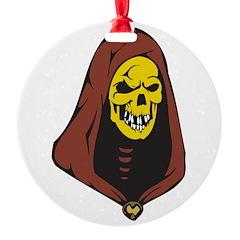 evil hooded skull.png Ornament