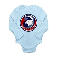 F-15 Eagle Long Sleeve Infant Bodysuit