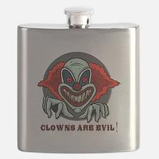 scary clown.psd Flask