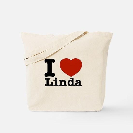 I Love Linda Tote Bag