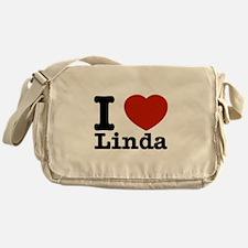 I Love Linda Messenger Bag