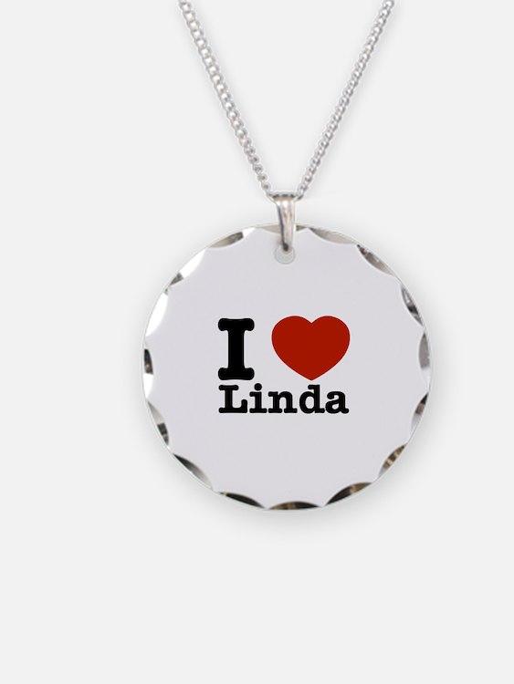 I Love Linda Necklace