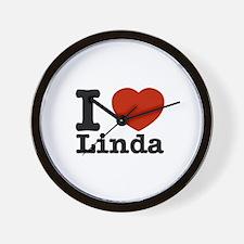 I Love Linda Wall Clock