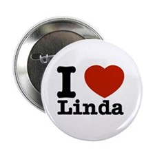 "I Love Linda 2.25"" Button"
