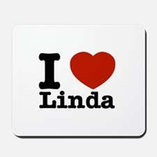 I Love Linda Mousepad