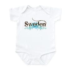 Sweden Grunge Infant Bodysuit