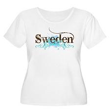 Sweden Grunge T-Shirt