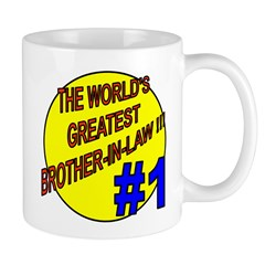 Greatest Brother-in-Law Shop Mug
