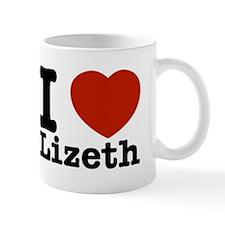 I Love Lizeth Mug
