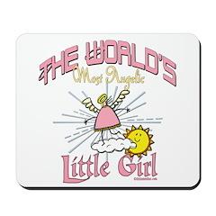 Angelic Little Girl Mousepad