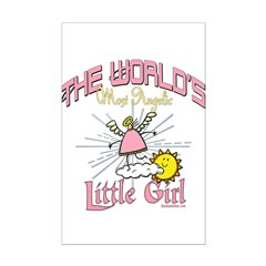 Angelic Little Girl Posters