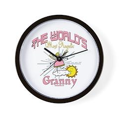 Angelic Granny Wall Clock