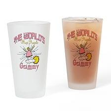 Angelic Grammy Drinking Glass