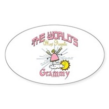Angelic Grammy Sticker (Oval)