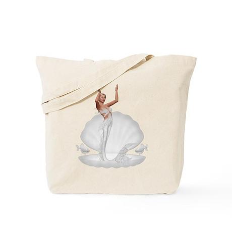 bride mermaid Tote Bag