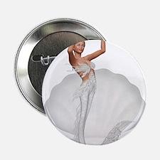 """bride mermaid 2.25"""" Button"""