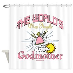Angelic Godmother Shower Curtain