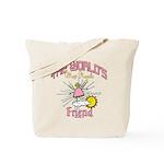 Angelic Friend Tote Bag