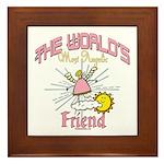 Angelic Friend Framed Tile
