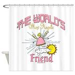 Angelic Friend Shower Curtain