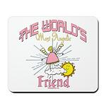 Angelic Friend Mousepad