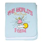 Angelic Friend baby blanket