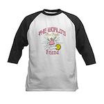 Angelic Friend Kids Baseball Jersey