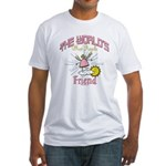 Angelic Friend Fitted T-Shirt