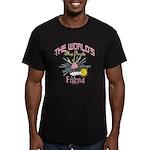 Angelic Friend Men's Fitted T-Shirt (dark)