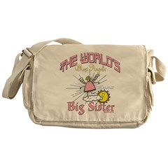 Angelic Big Sister Messenger Bag