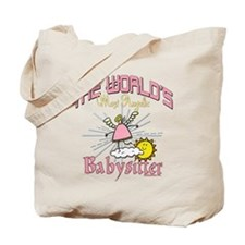 Angelic Babysitter Tote Bag