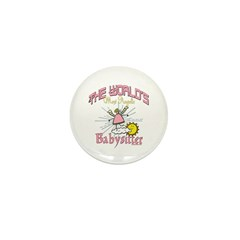 Angelic Babysitter Mini Button (10 pack)
