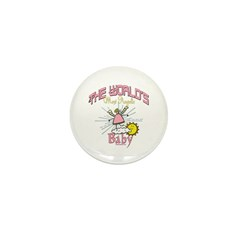 Angelic Baby Mini Button (100 pack)