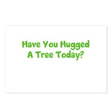 Hug A tree. Postcards (Package of 8)