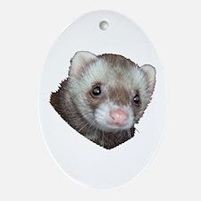 Ferret Oval Ornament
