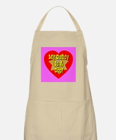 My Daddy Is A Cop BBQ Apron