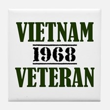 VIETNAM VETERAN 68 Tile Coaster