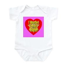 I Married The Sheriff Infant Creeper