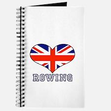 LOVE ROWING UNION JACK Journal