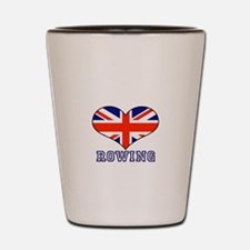 LOVE ROWING UNION JACK Shot Glass