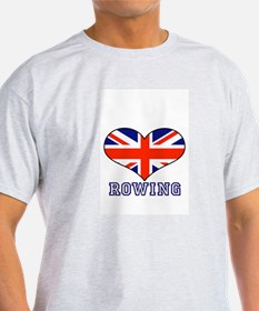 LOVE ROWING UNION JACK T-Shirt