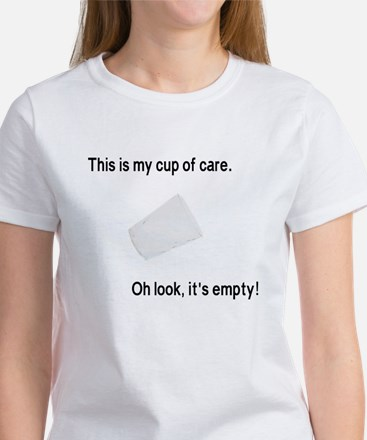 This is my cup of care Women's T-Shirt