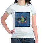 Vintage Pennsylvania Flag Jr. Ringer T-Shirt