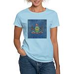 Vintage Pennsylvania Flag Women's Light T-Shirt
