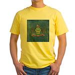 Vintage Pennsylvania Flag Yellow T-Shirt