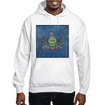 Vintage Pennsylvania Flag Hooded Sweatshirt