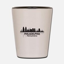Pennsylvania Philadelphia Skyline Shot Glass